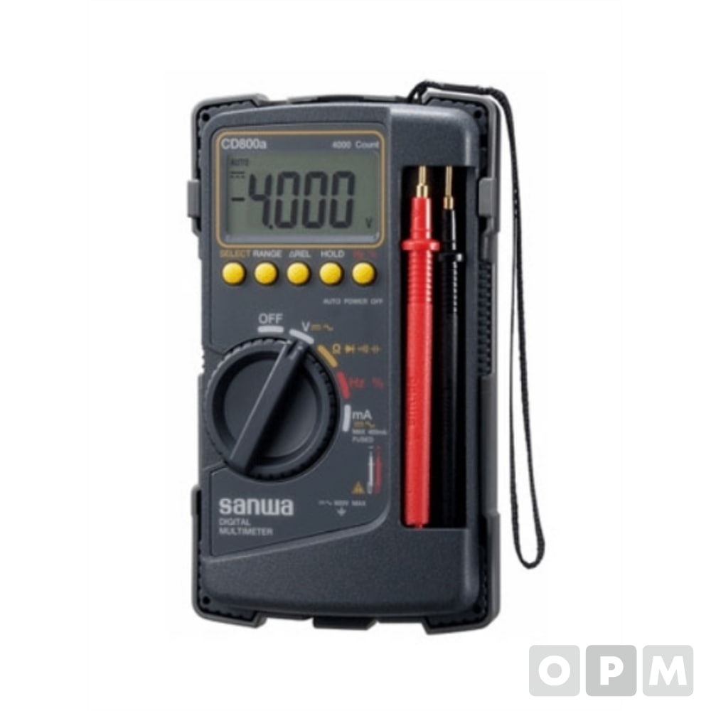 디지털멀티테스터기 SW-CD800A