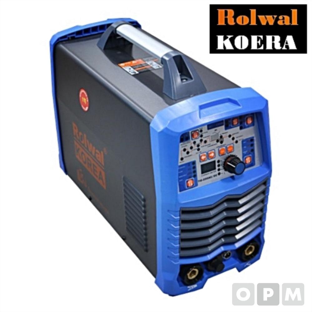 ROLWAL 알곤용접기 로웰코리아 TIG-200PT / 470x270x330mm